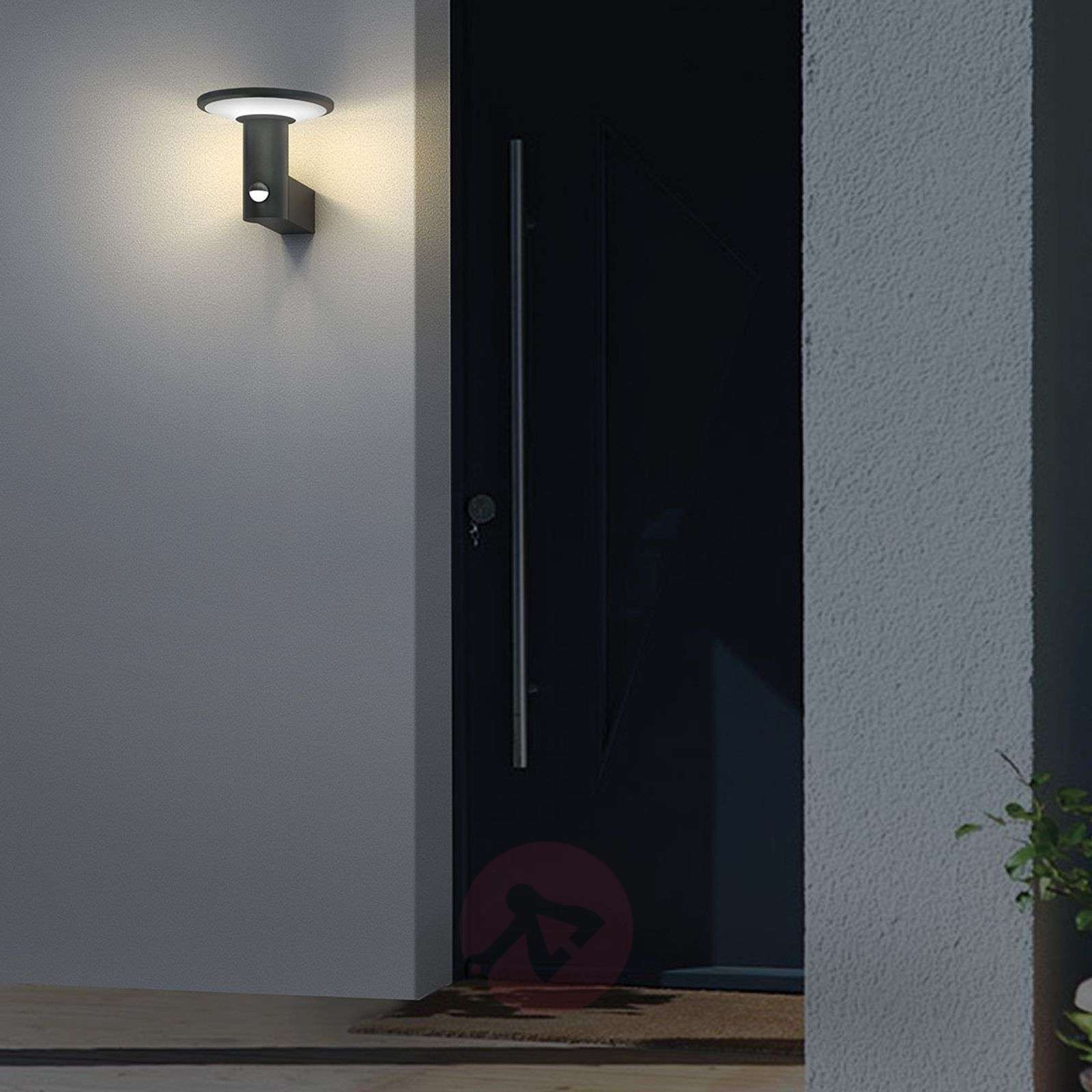 Round Led Outdoor Wall Light Jersy Solar Panel Lights Co Uk