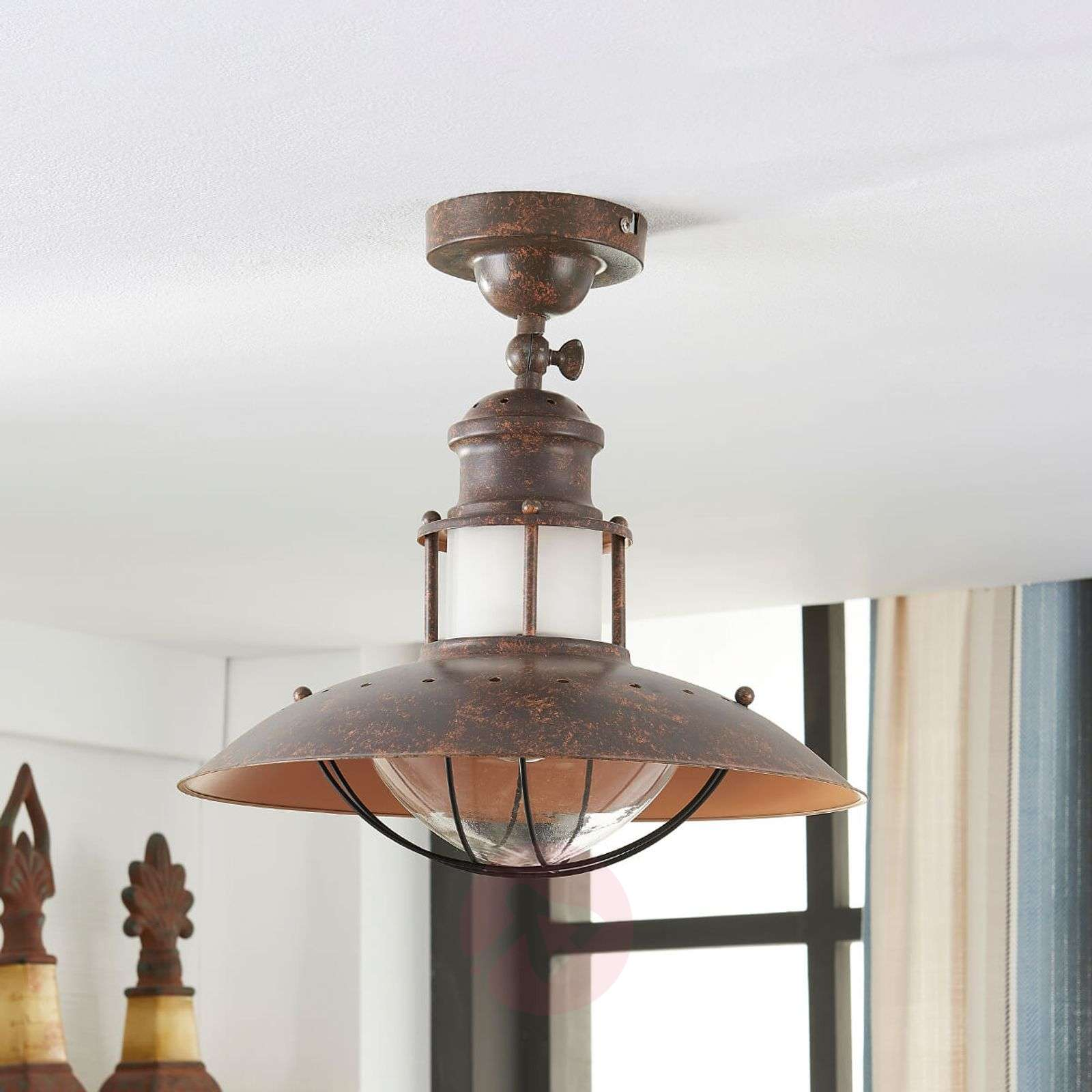Rustic Lighting Company: Rustic Ceiling Light Louisanne