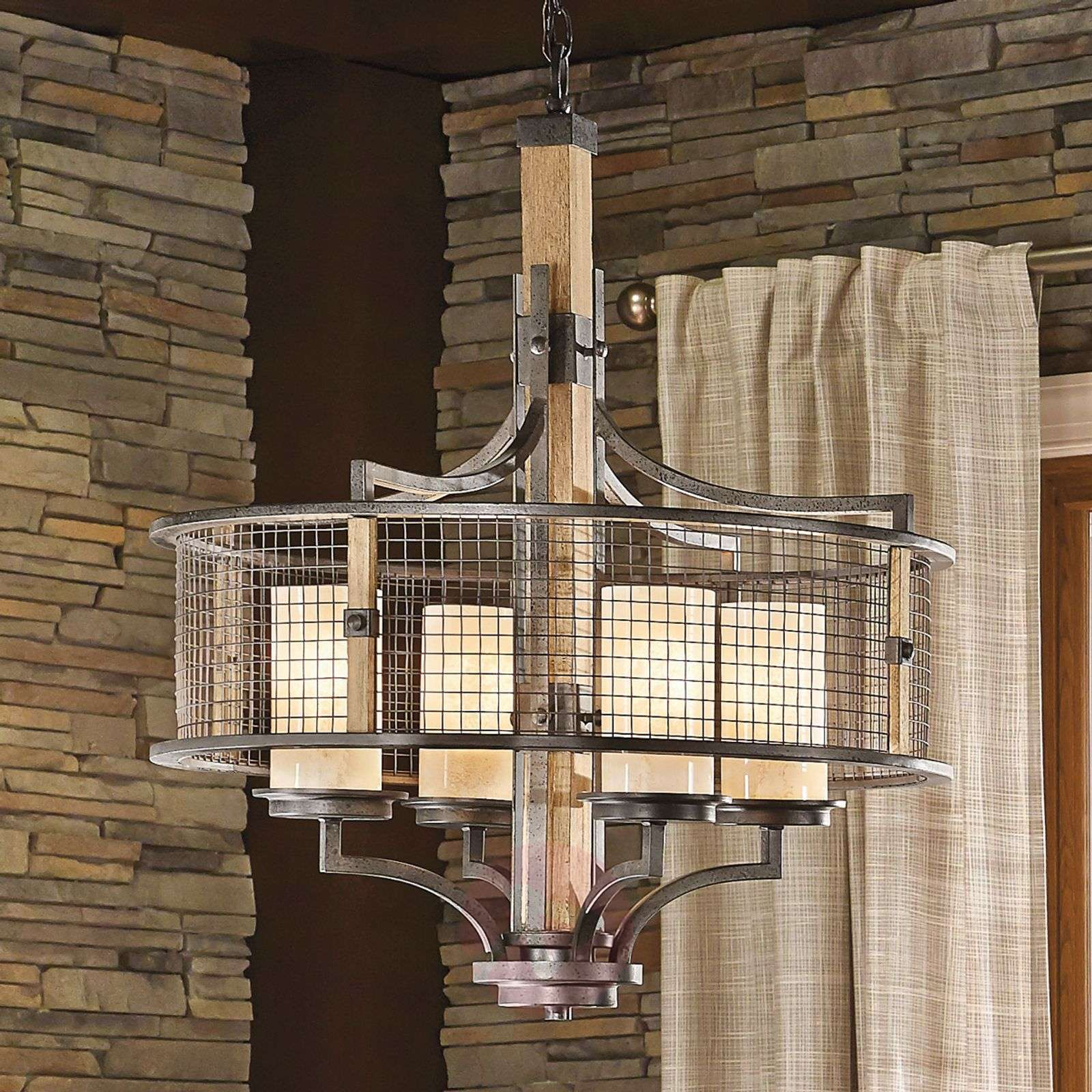 Rustic Lighting Company: Rustic Country Style Chandelier Ahrendale