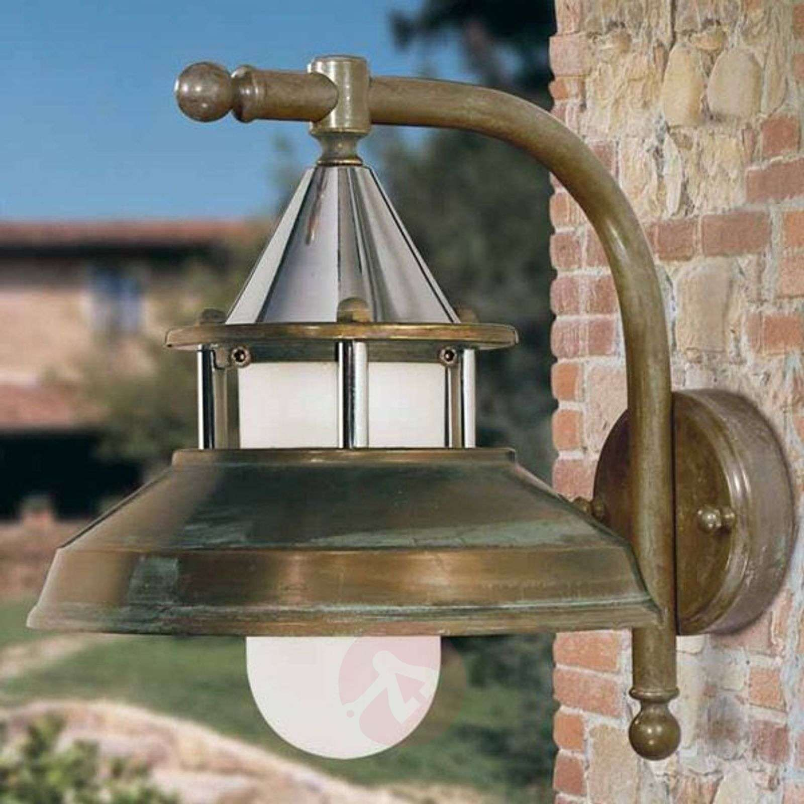 Outdoor Lighting Company: Rustic Outdoor Wall Light Antique