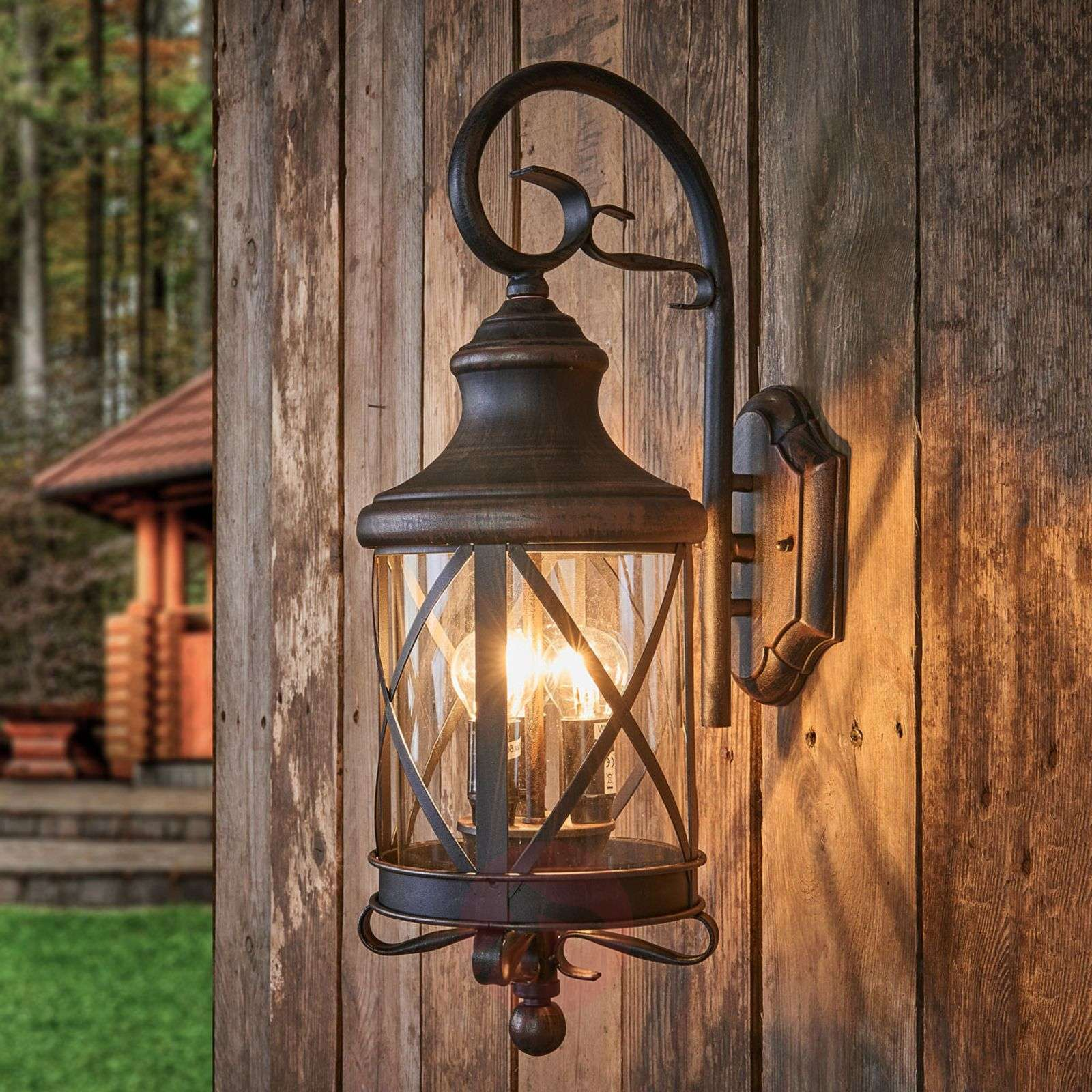 Rustic outdoor wall light Romantica | Lights.co.uk on Outdoor Wall Sconce Lighting id=57054