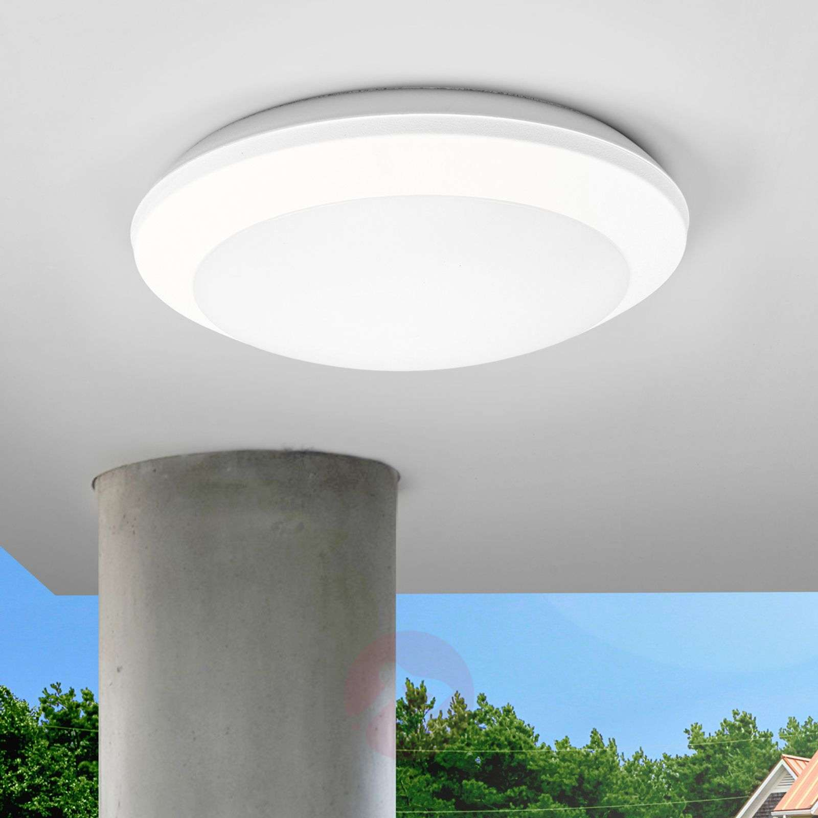 Sensor ceiling light umberta 2xe27 white lights sensor ceiling light umberta 2xe27 white 3538058 04 mozeypictures Image collections