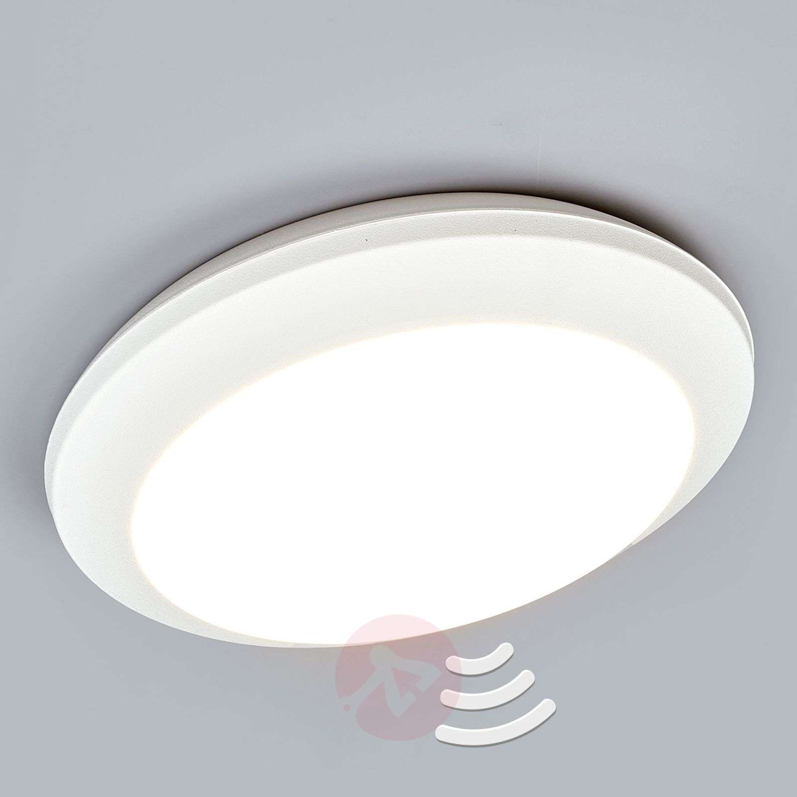 Omtalade Sensor ceiling light Umberta 2xE27 white | Lights.co.uk RR-62