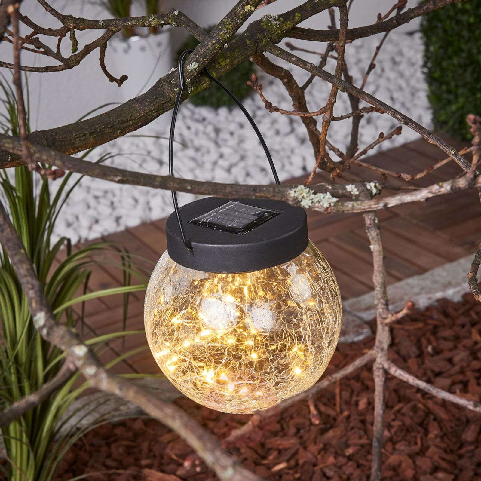 Small Solar Decorative Light Glory For Hanging Lights Co Uk