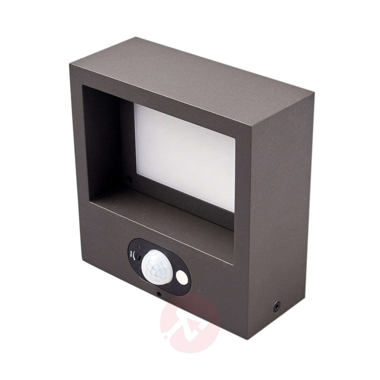 Solar powered led outdoor wall light mahra sensor lights solar powered led outdoor wall light mahra sensor 9619074 01 mozeypictures Gallery