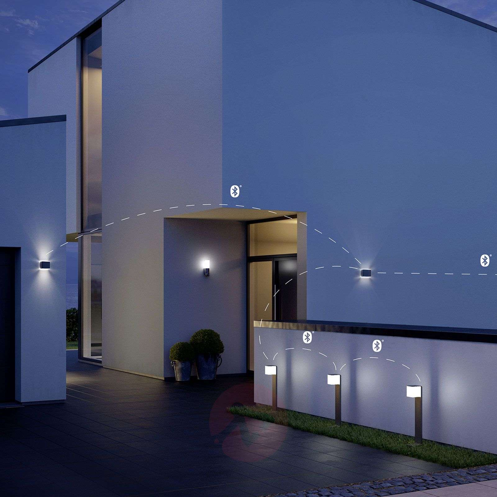 Steinel L 840 Led Ihf Outdoor Wall Light Lights Co Uk