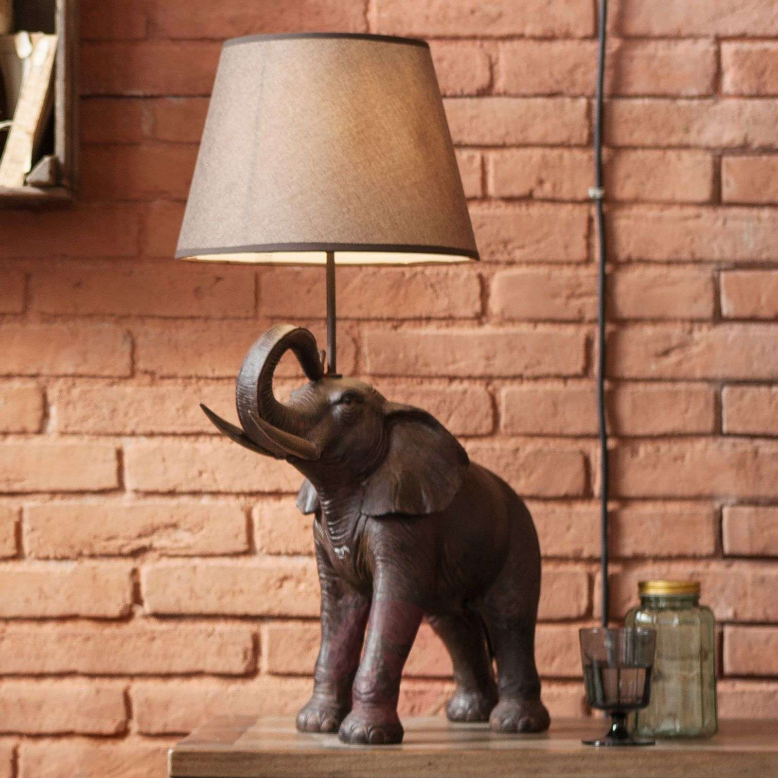 Table Lamp Elephant Safari 5517465 01 ...