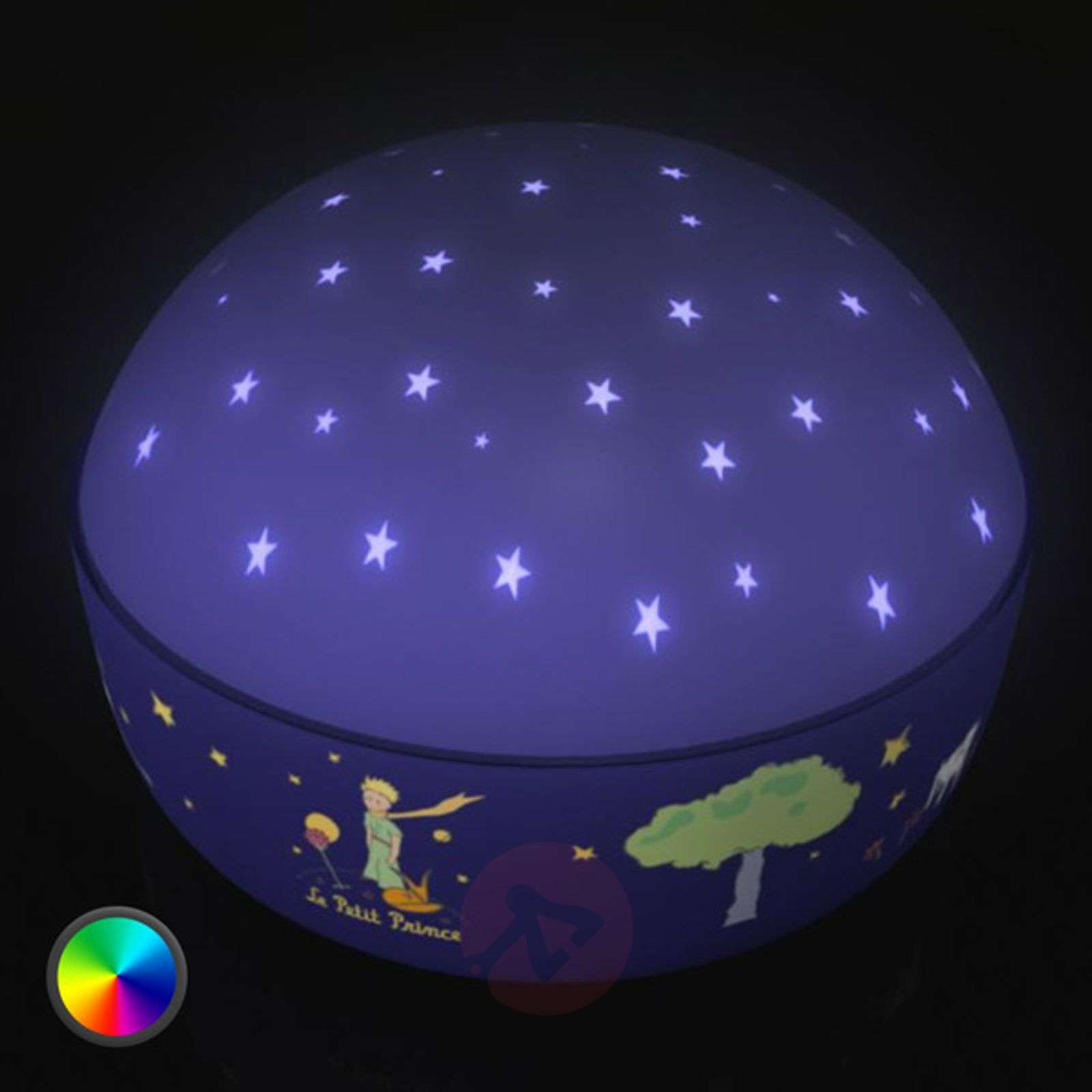 the little prince led night light beautiful. Black Bedroom Furniture Sets. Home Design Ideas