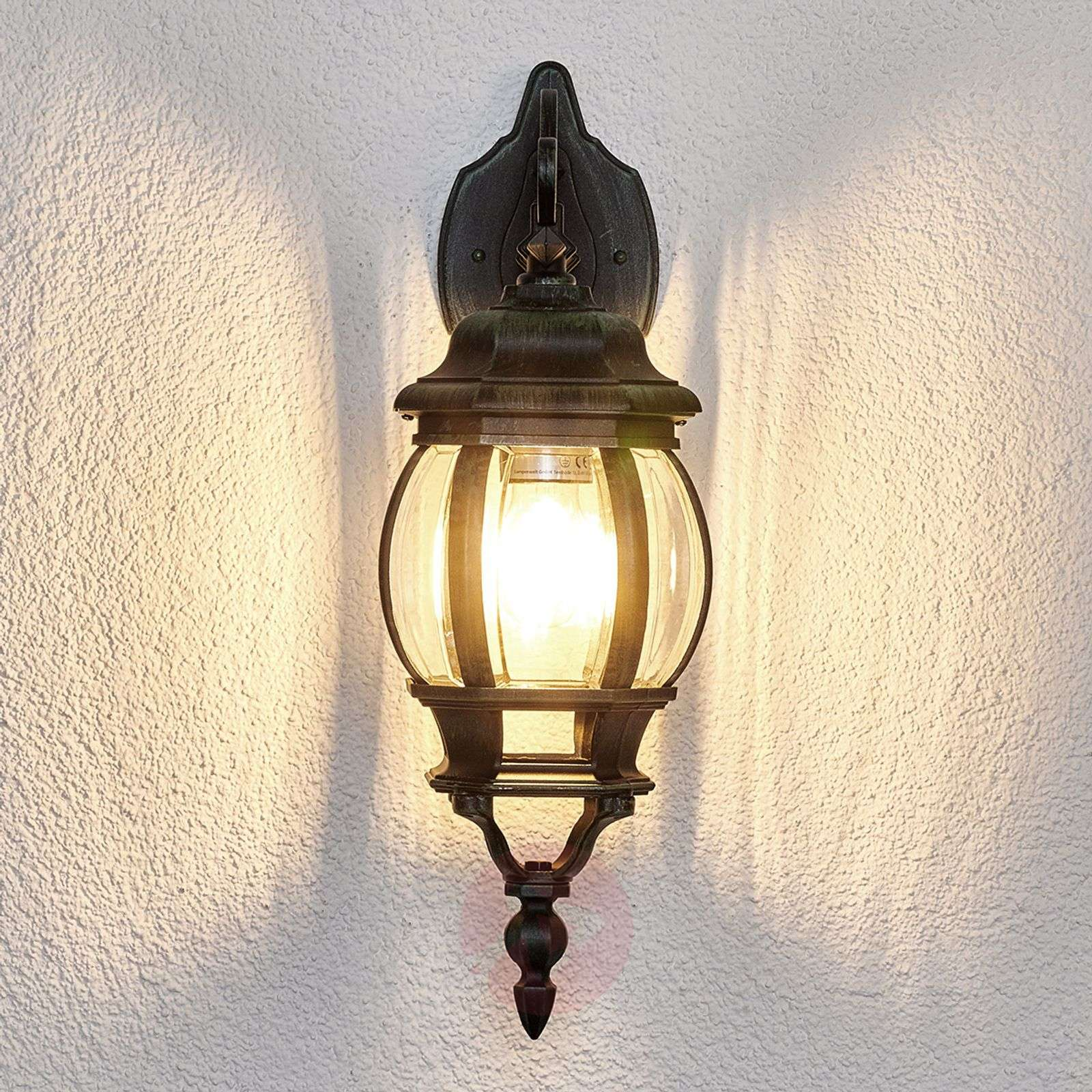 Theodor Outside Wall Light Antique Look Lights.co.uk