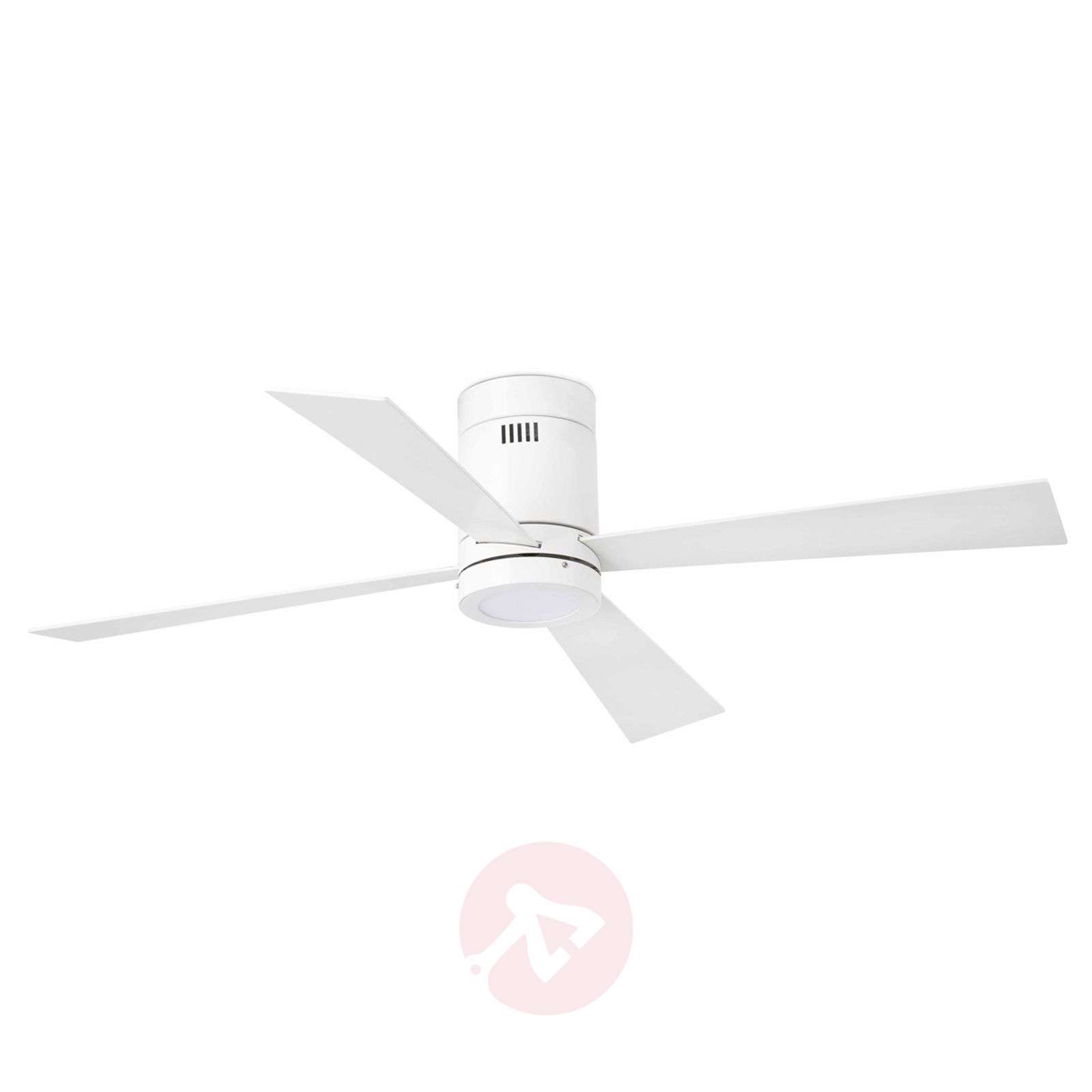 Timor Four Blade Ceiling Fan With Led Lights Co Uk