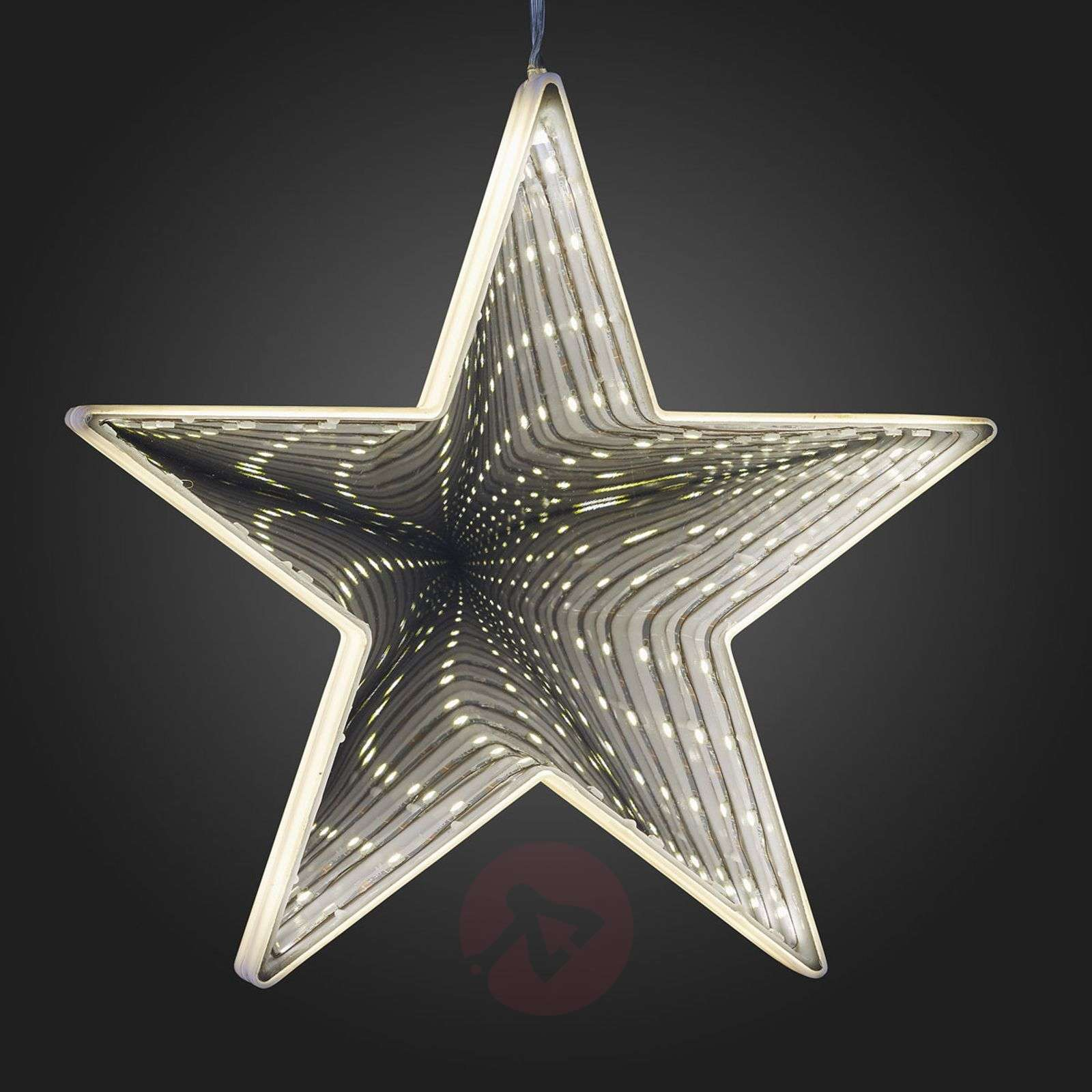 To Hang Up Led Star With Infinity Effect Lights Co Uk