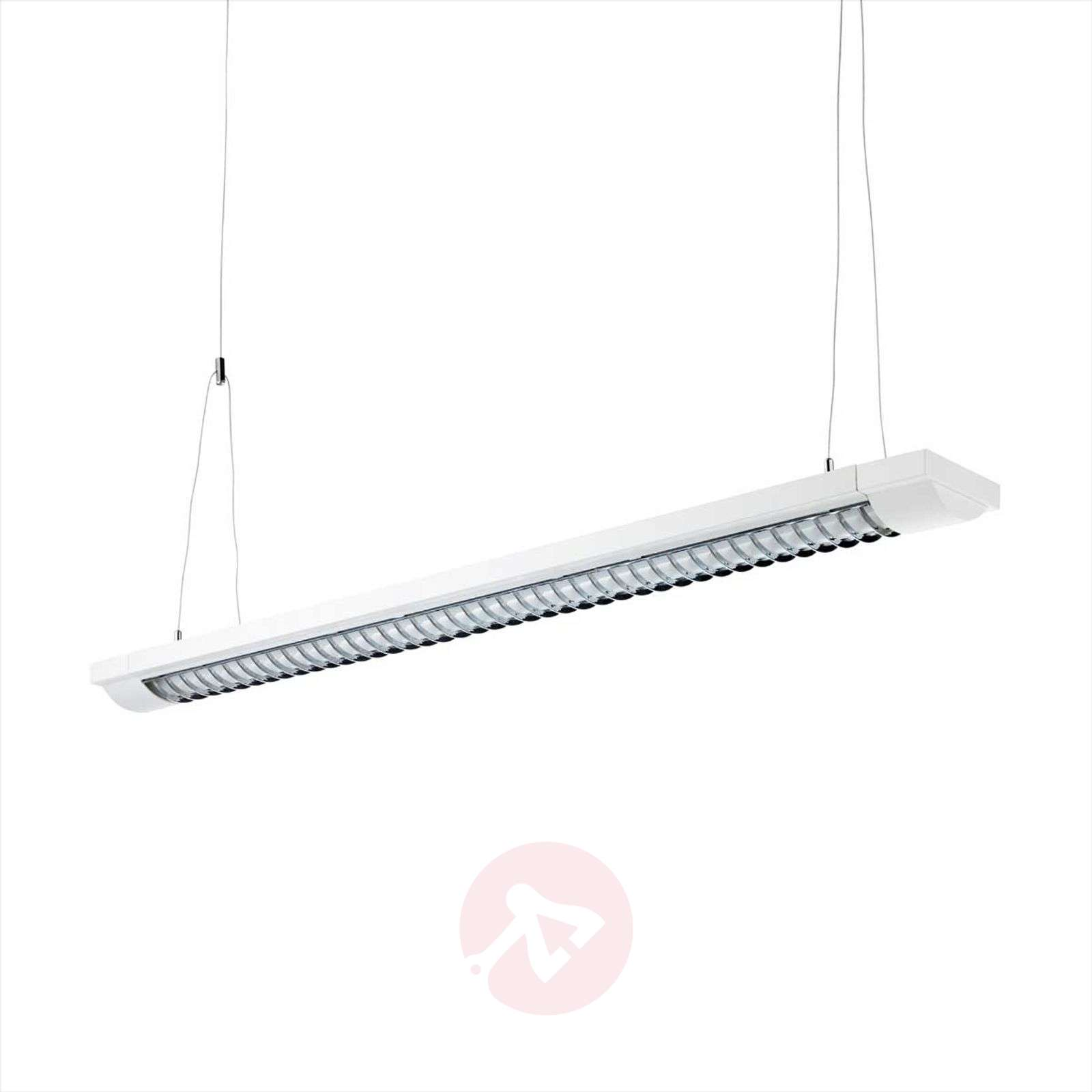 two-bulb louvre light G13 w/ EB, cable suspension-1003113X-01