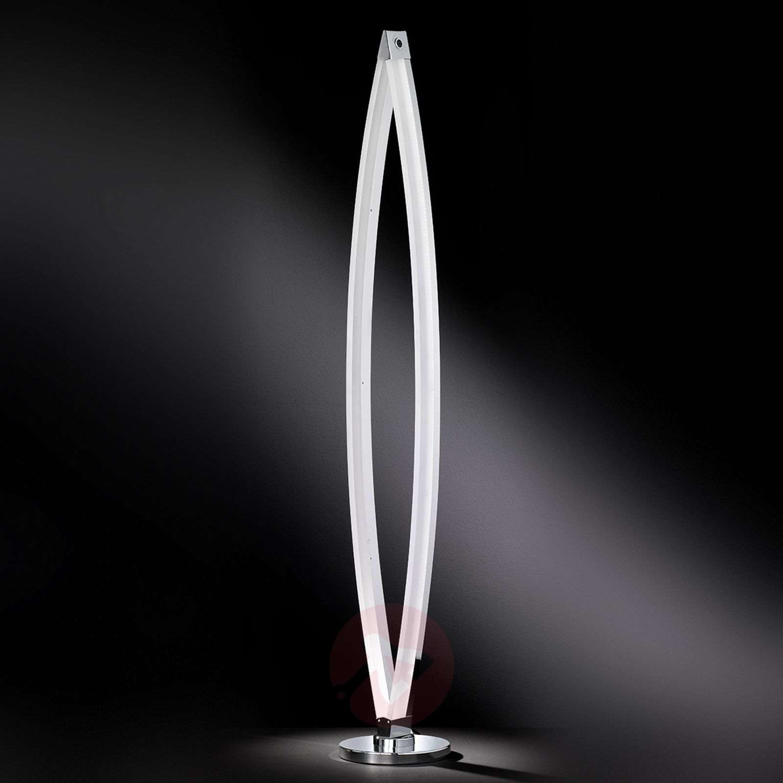 Vannes contemporary LED floor lamp | Lights.co.uk