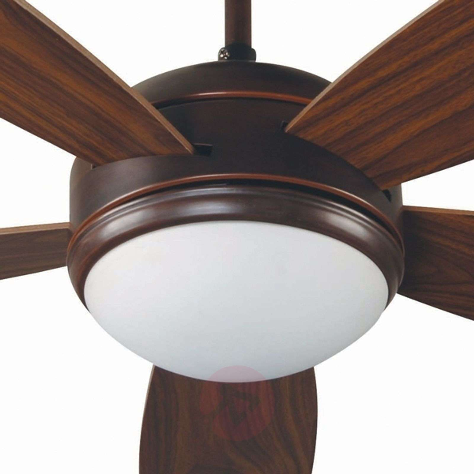 Vanu large ceiling fan with remote control brown lights vanu large ceiling fan with remote control brown 3506021 01 aloadofball Image collections