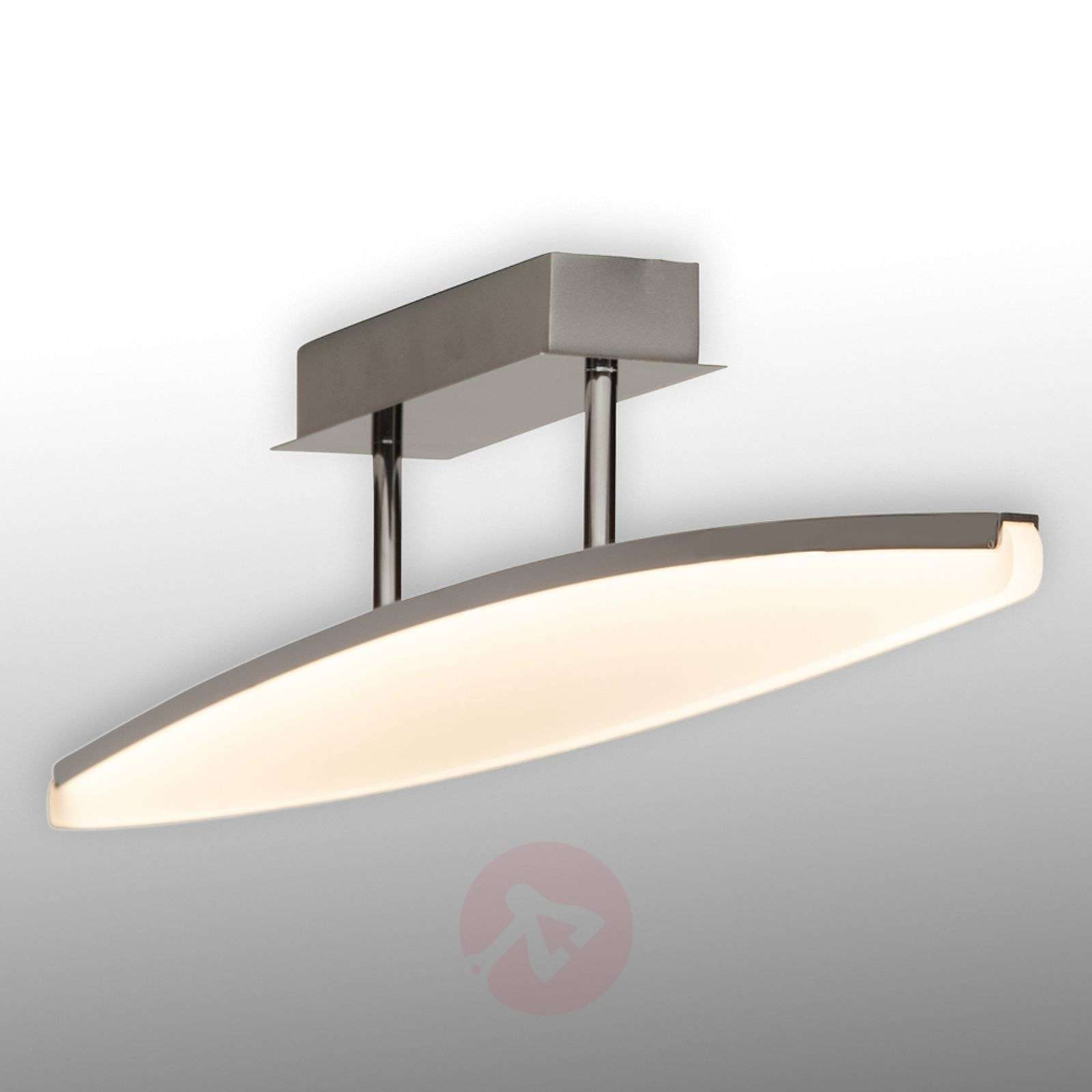 View LED ceiling lamp with curved lampshade-1509028-01