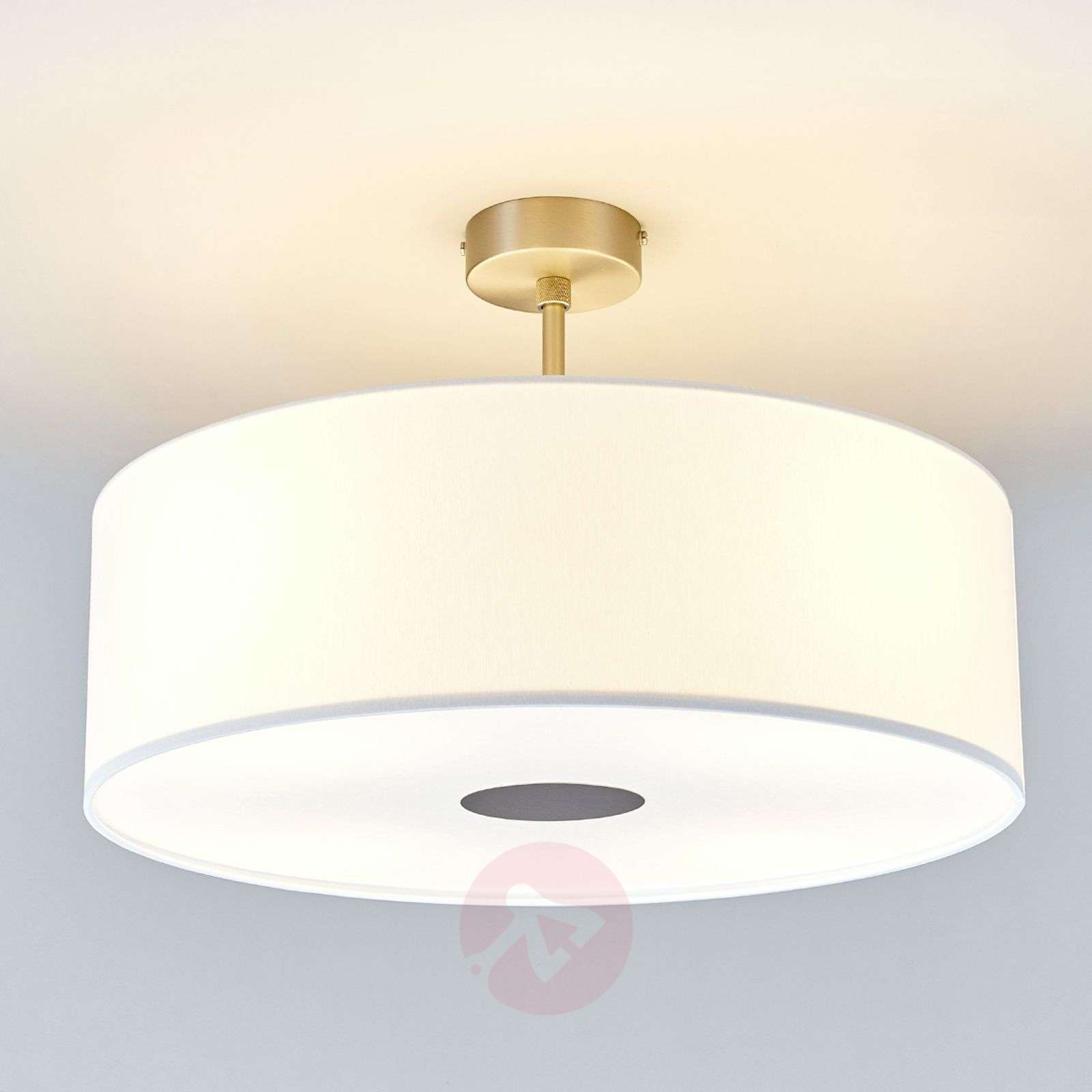 White Ceiling Lamps: White Gala LED Ceiling Light - Made In Germany