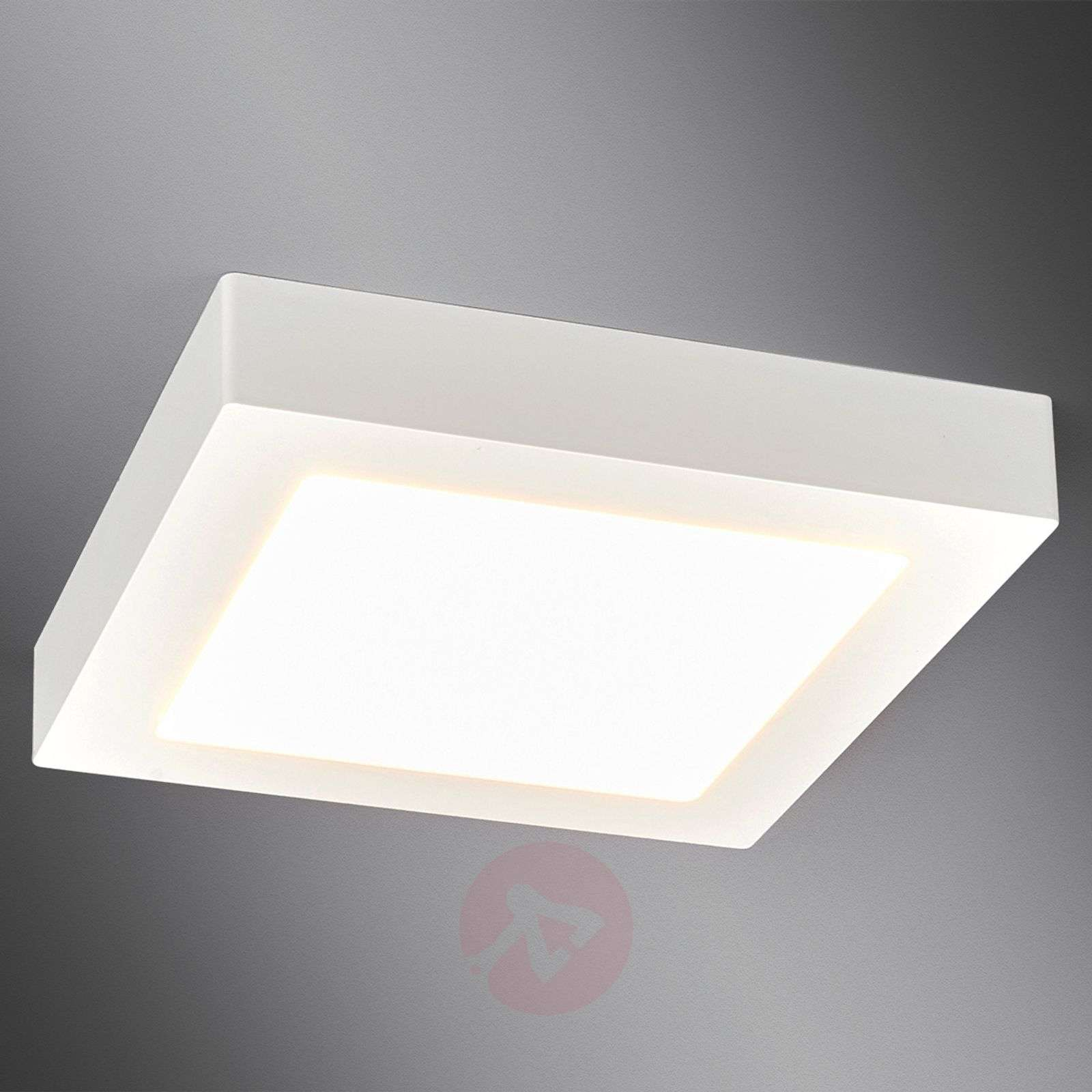 square bathroom lights white square led bathroom ceiling light rayan lights co uk 14537 | white square led bathroom ceiling light rayan 9978024 311