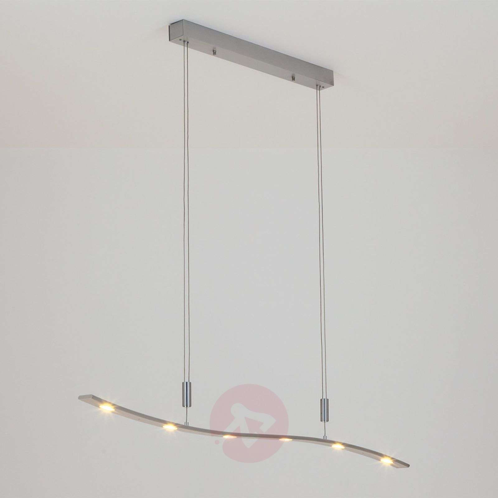 Height Adjustable Led Pendant Light Drop: Xalu LED Pendant Lamp, Height-Adjustable 120 Cm