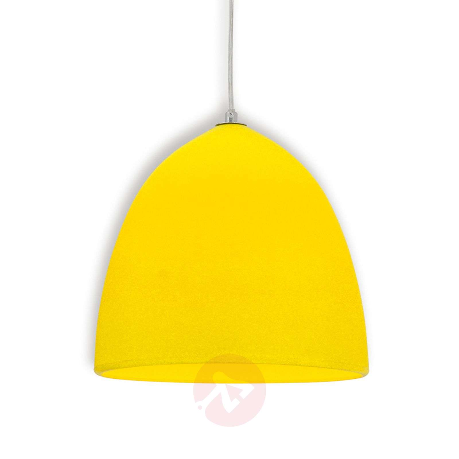 Yellow Silicon Pendant Light Fancy 7000785 01 ...