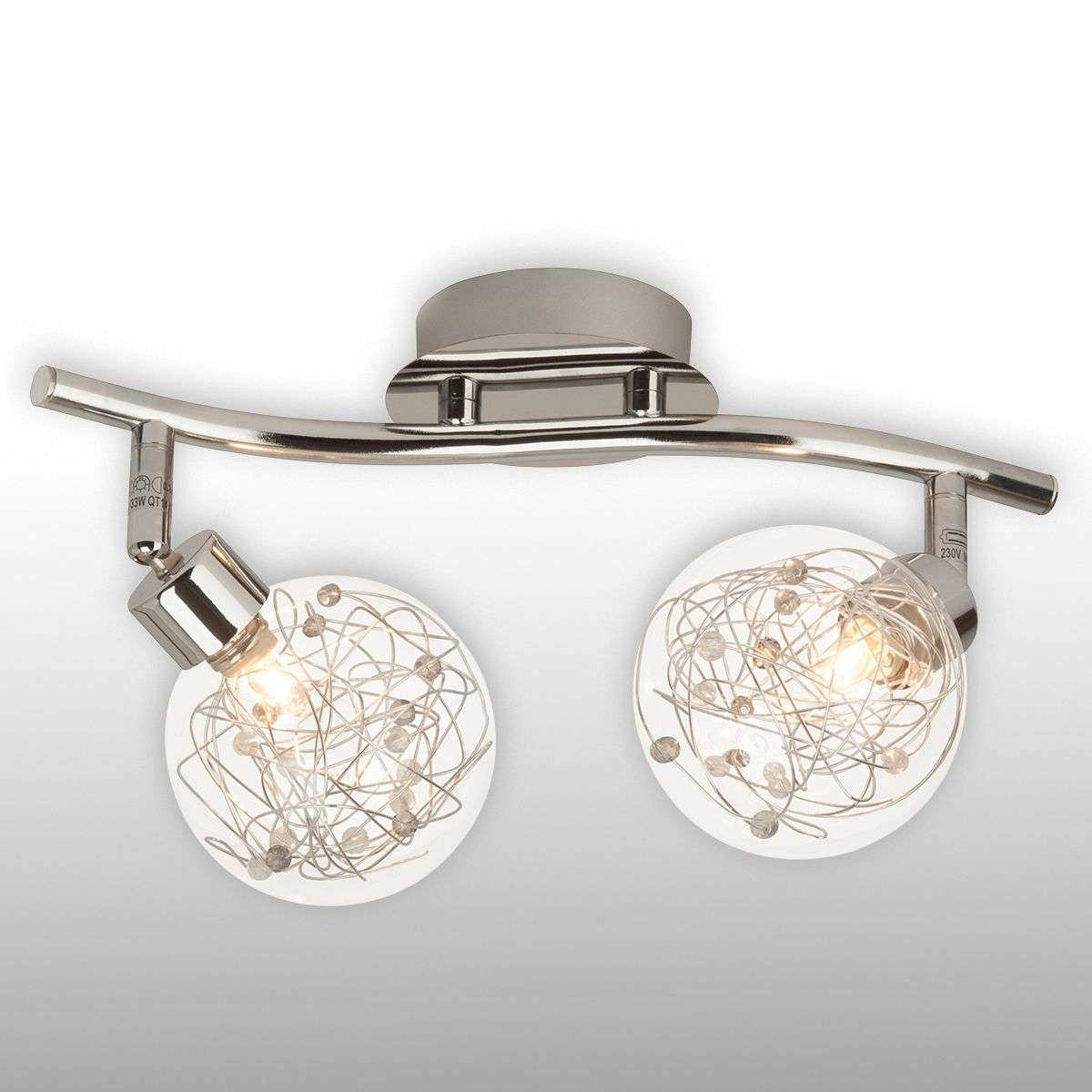 2-bulb ceiling light Joya-1509045-31