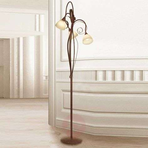 Buy Floor Lamps Country/Rustic from Lights.co.uk