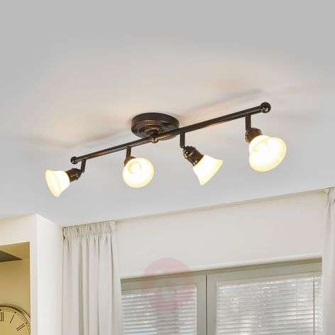 4-bulb, effective ceiling light Elma