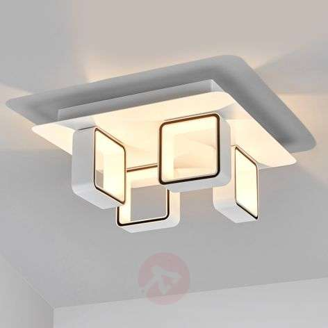 4-light LED ceiling light Jula