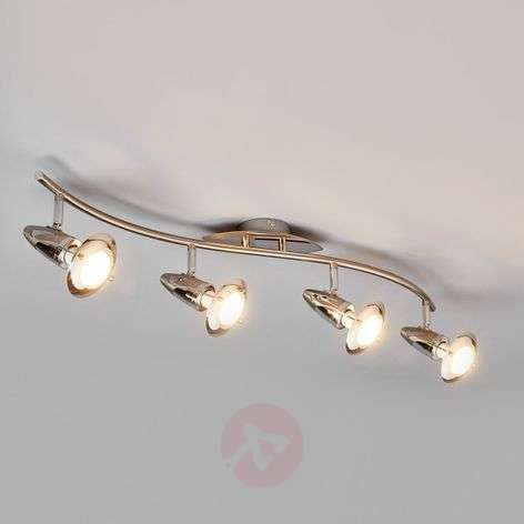 4-light LED ceiling light Sharleen