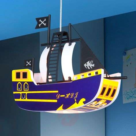 Adventurous  PIRATE Pendant Lamp