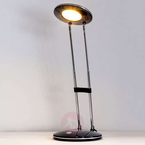 Almina Classical Modern LED Desk Lamp, Black
