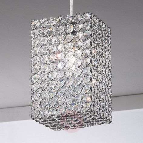 Amaja Crystal Hanging Light Cuboid