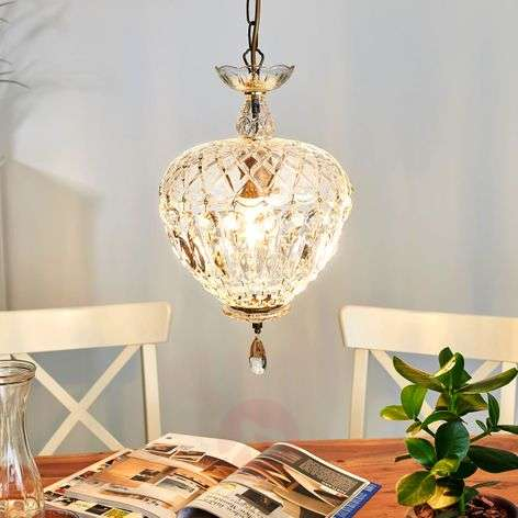 Andara Crystal Hanging Light Lovely Diameter 25 cm