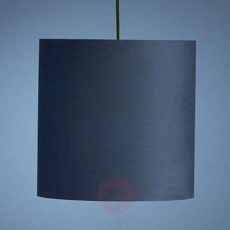 Anthracite-coloured pendant light by Schnepel