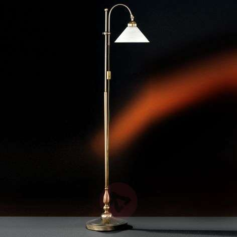 Antwerpen Floor Lamp Stylish Antique Brass