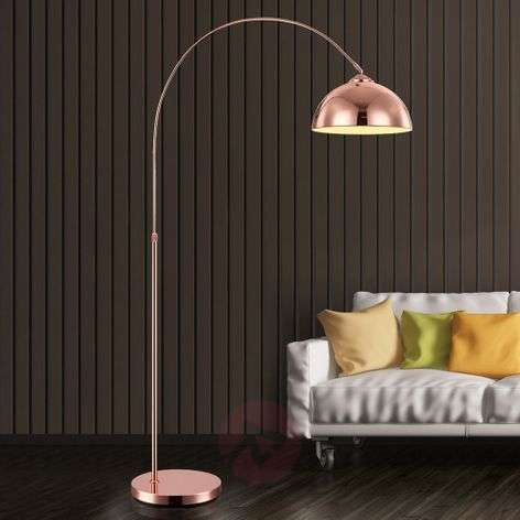 Arc-shaped floor lamp Pelin