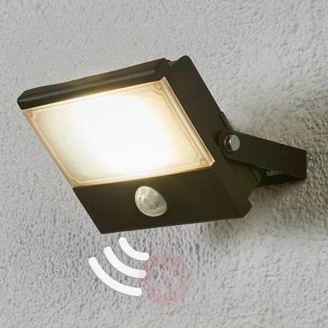 Auron functional LED outdoor spotlight, sensor