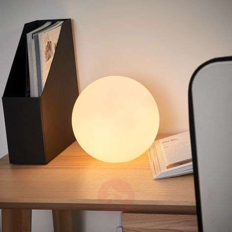 Ball shaped table lamp KIIA