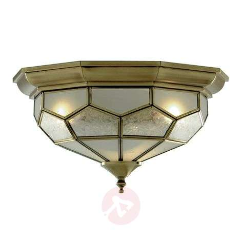 Beautiful FRIDA ceiling light with glass inserts