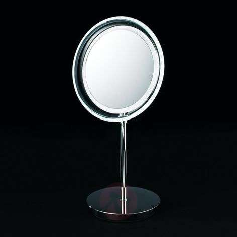 BS 15 LED cosmetic mirror, battery-powered