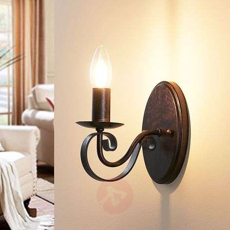 Caleb wall light in a country house style