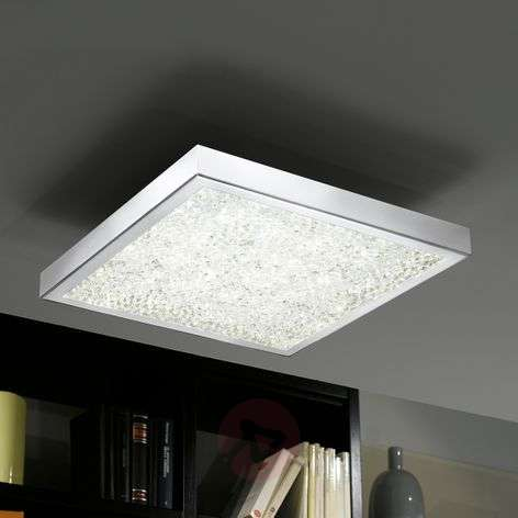 Cardito 36.5 Crystal Ceiling Lamp With RGB LED