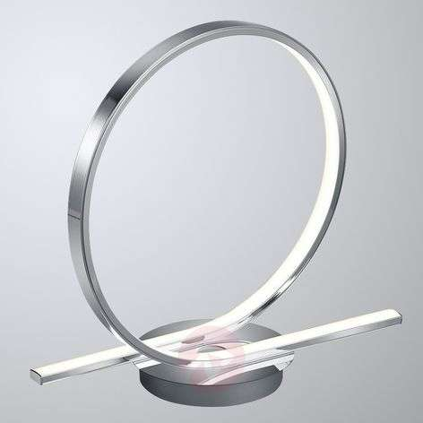 Catoki - loop-shaped LED table lamp