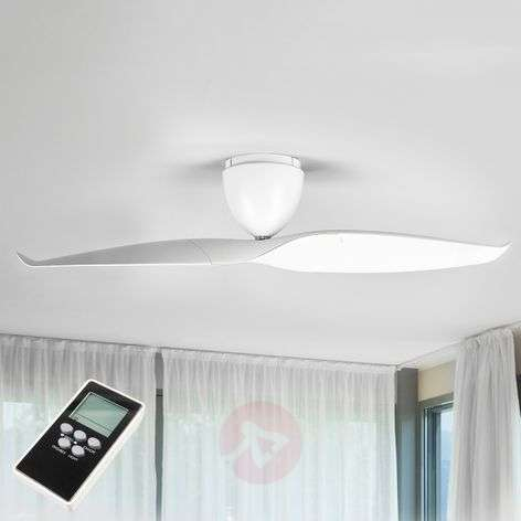 Ceiling fan Wave, white, 126 cm