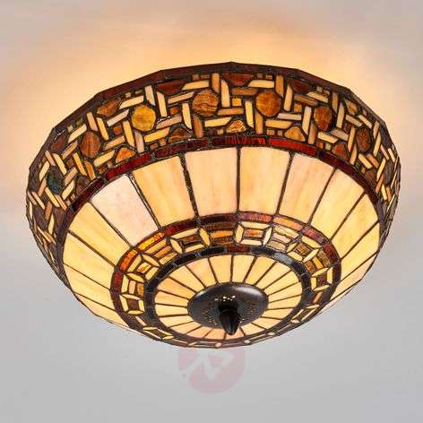 Ceiling lamp Wilma in the Tiffany style