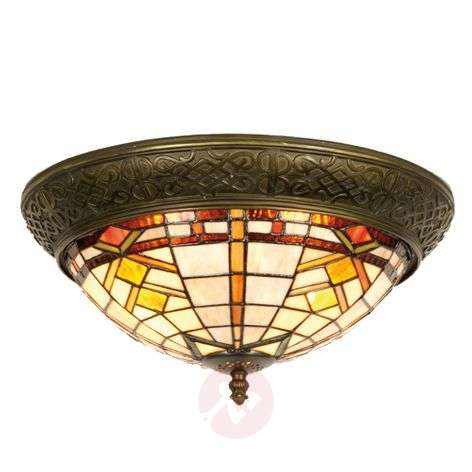 Ceiling light Levke in the Tiffany style