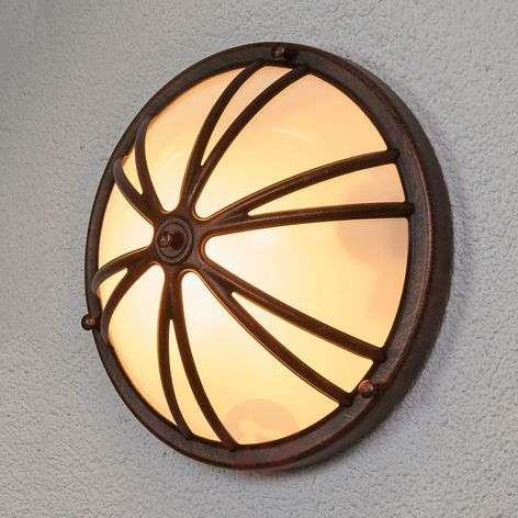 Cervinia - outdoor wall light with motion detector