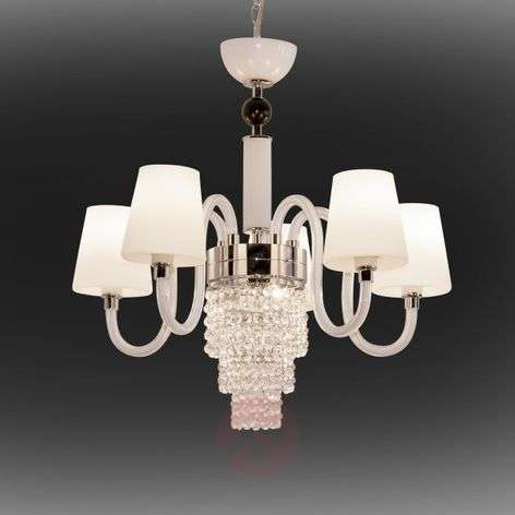 Chandelier Marina with LED accent light, 5-bulb
