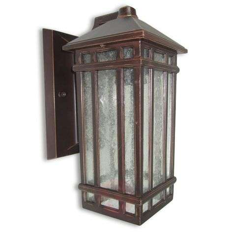 Chedworth Outside Wall Light Antique Bronze Finish