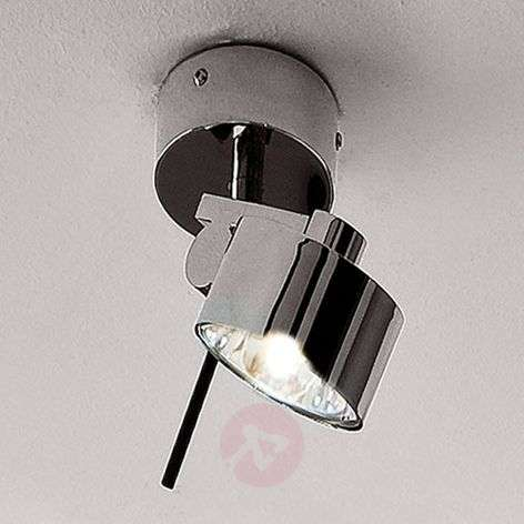 Chrome-plated wall and ceiling spotlight AX20
