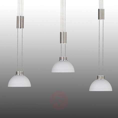 Class triple-adjustable LED hanging light